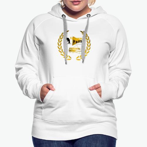 Followme Paris lauréat Festival MMI Béziers - Sweat-shirt à capuche Premium pour femmes