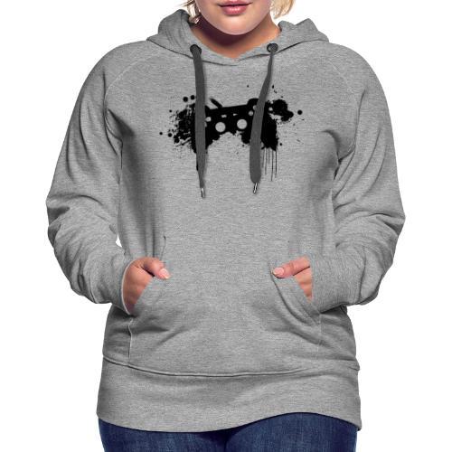 Speel harde controller - Vrouwen Premium hoodie