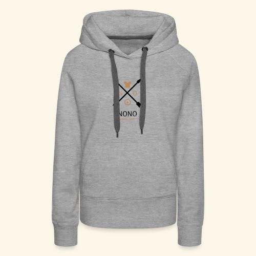 NONO SINCE 2017 - Dame Premium hættetrøje