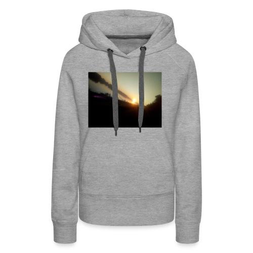 the morning - Vrouwen Premium hoodie