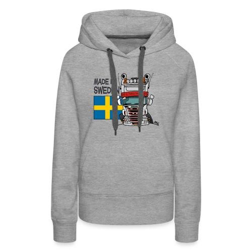 Made in Sweden - Vrouwen Premium hoodie