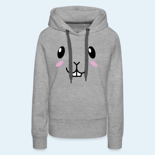 Conejo bebé (Cachorros) - Sudadera con capucha premium para mujer