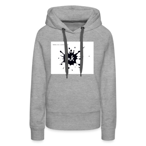 Ink Logo and website - Women's Premium Hoodie