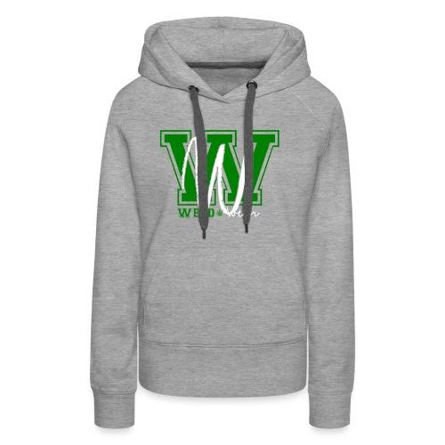 Weedwear - Sweat-shirt à capuche Premium pour femmes