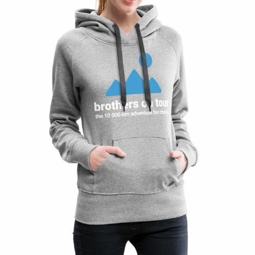 Brothers on Tour - Logo 1 - Frauen Premium Hoodie