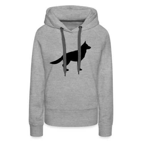 Wolf - Frauen Premium Hoodie