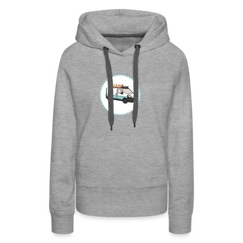 aVANture - Sweat-shirt à capuche Premium pour femmes