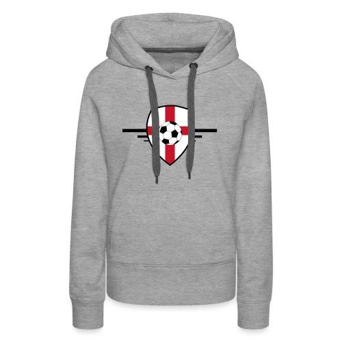 England football - Sweat-shirt à capuche Premium pour femmes