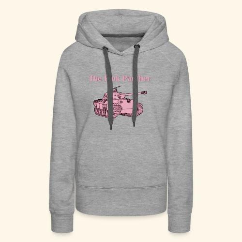 Le panther rose - Sweat-shirt à capuche Premium pour femmes