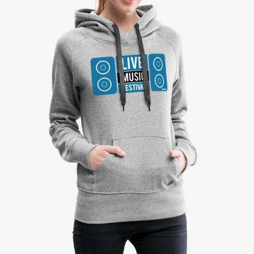 Sound 005 - Sudadera con capucha premium para mujer