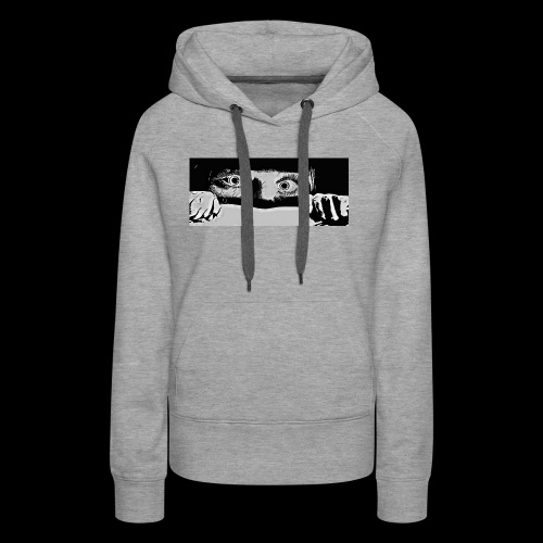 hiding from the b-movie - Women's Premium Hoodie