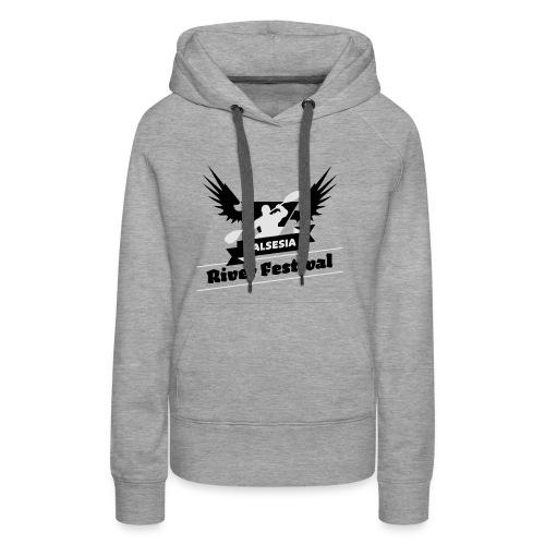 Black Silver logo - Women's Premium Hoodie