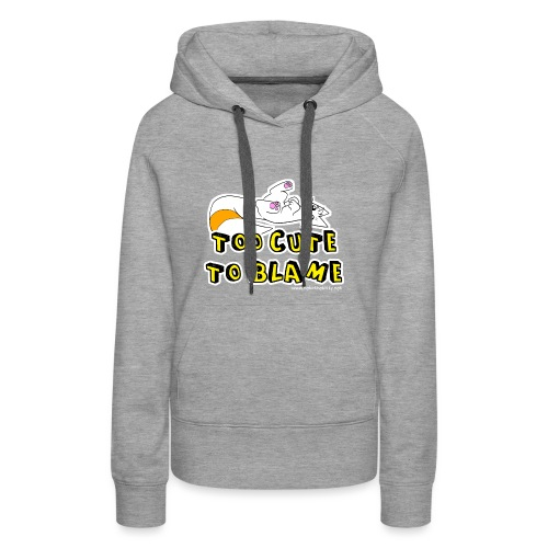 Too Cute To Blame - Women's Premium Hoodie