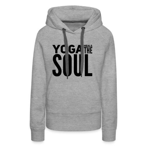 yogalover - Vrouwen Premium hoodie