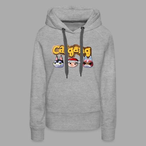 Animal Crossing CatGang - Frauen Premium Hoodie