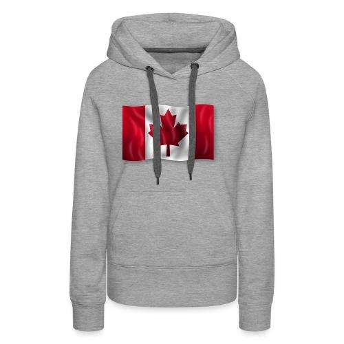 Canada Kanada Flagge cool stylish - Frauen Premium Hoodie