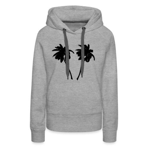 Palm trees - Frauen Premium Hoodie