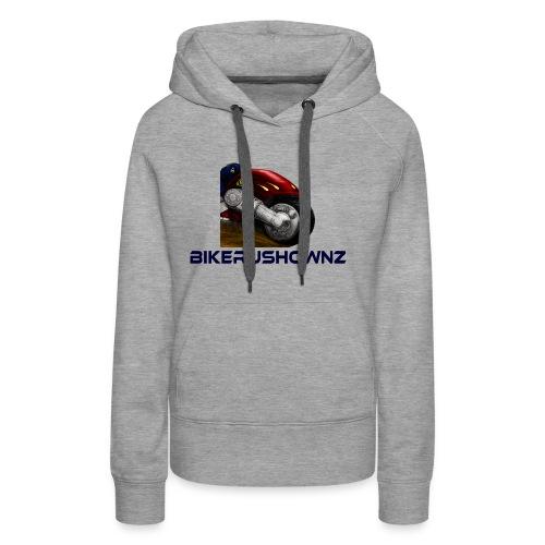 bikerushwonz merchandise - Women's Premium Hoodie