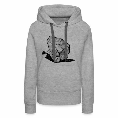 ROCK No 1 b w - Vrouwen Premium hoodie