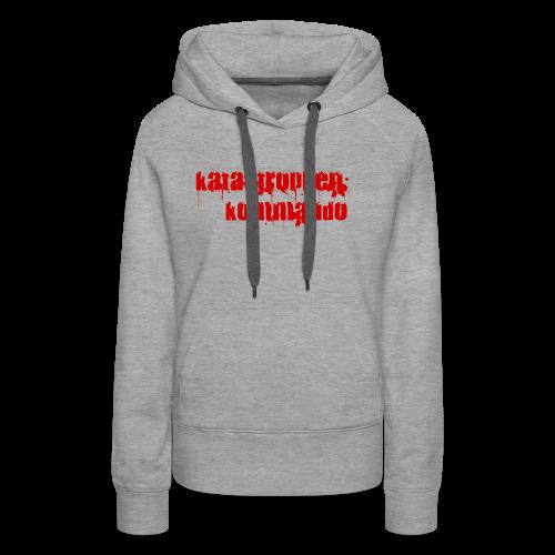 KK Logo rot - Frauen Premium Hoodie