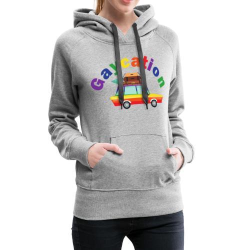 Gaycation | LGBT | Pride - Frauen Premium Hoodie