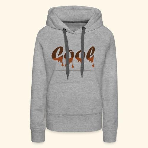 Cool - Sweat-shirt à capuche Premium pour femmes