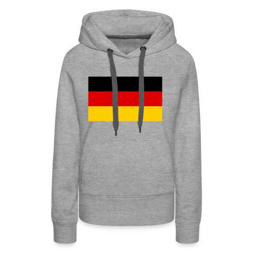 2000px Flag of Germany svg - Frauen Premium Hoodie