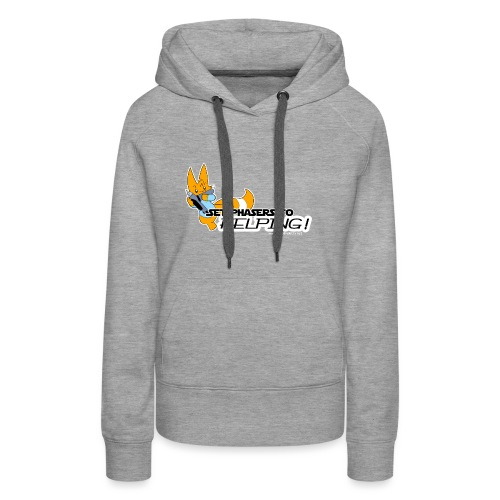 Set Phasers to Helping - Women's Premium Hoodie