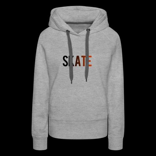 SKATE - Vrouwen Premium hoodie