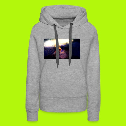 Hoodie Grau | Handyhülle samsung - Frauen Premium Hoodie