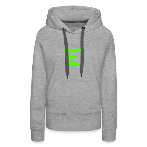 E for Emerald - Women's Premium Hoodie