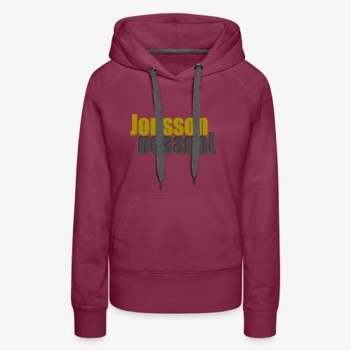 Jonsson 2x - Premiumluvtröja dam
