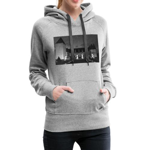Chrome castle - Sweat-shirt à capuche Premium pour femmes