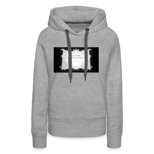 we hit 100 views - Women's Premium Hoodie