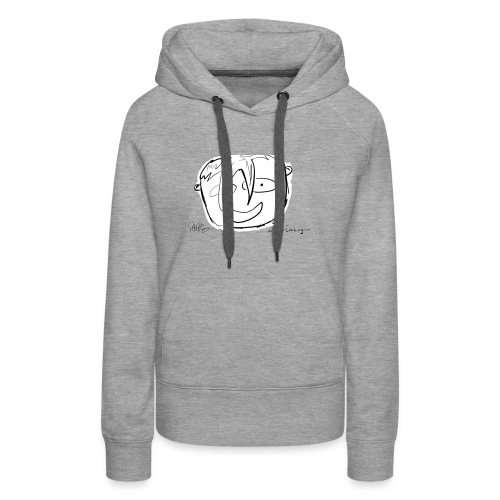 The Face Zoomed | Peter Eric Lang - Women's Premium Hoodie