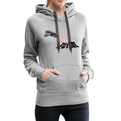 FUTURE - Sweat-shirt à capuche Premium pour femmes