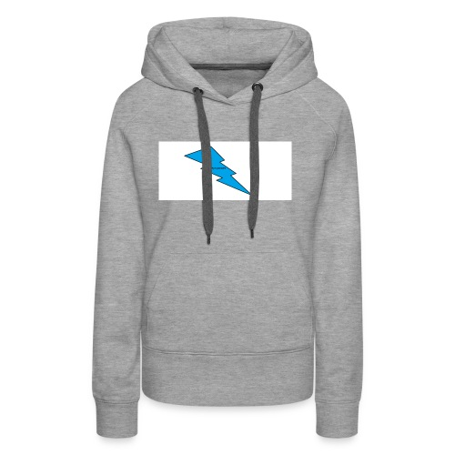 logo gobeyn power - Sweat-shirt à capuche Premium pour femmes