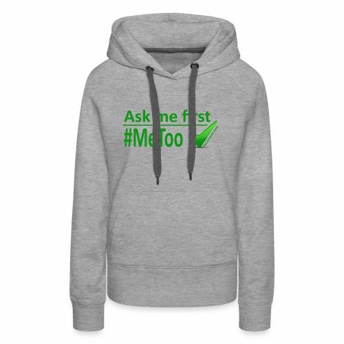 askmefirst logo - Women's Premium Hoodie