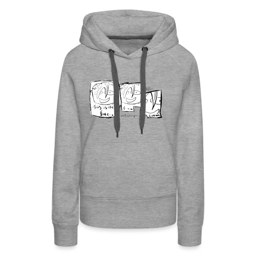This Is The Face Comic | Peter Eric Lang - Women's Premium Hoodie