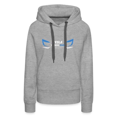 TOCF Logo roadster W - Sweat-shirt à capuche Premium pour femmes