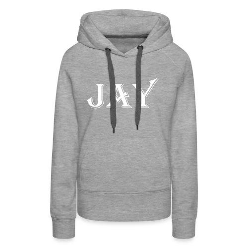 Prodotto JAY - Felpa con cappuccio premium da donna