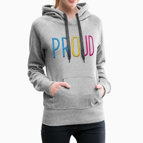 Proud Pansexual - Women's Premium Hoodie