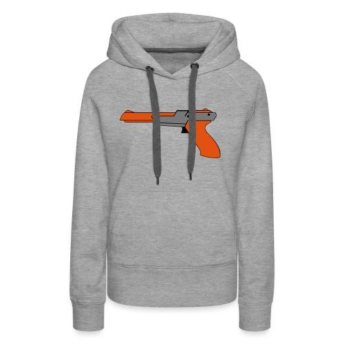 gun Zapper NES SUPER BROS HUNT DUCK - Sweat-shirt à capuche Premium pour femmes