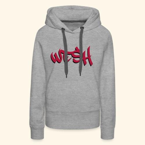 WESH Tag - Sweat-shirt à capuche Premium pour femmes