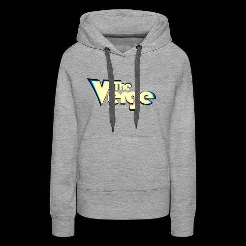 The Verge Vin - Sweat-shirt à capuche Premium pour femmes