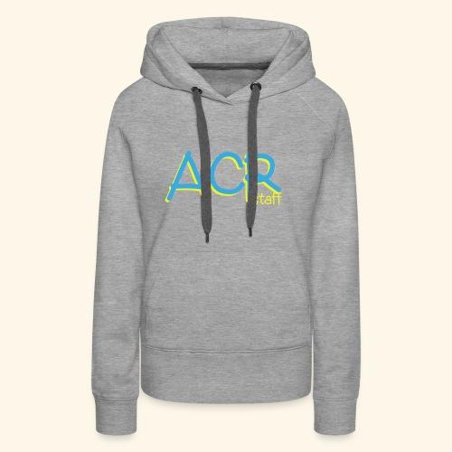 ACR - Felpa con cappuccio premium da donna