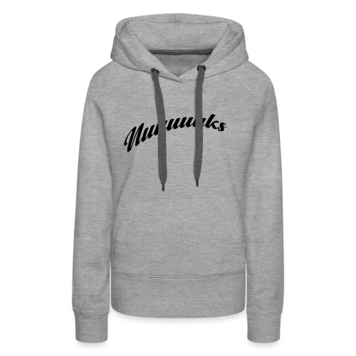 nuuuuks logo - Vrouwen Premium hoodie