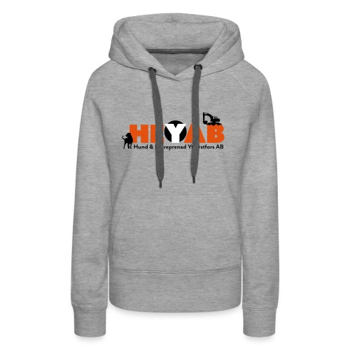 HEYAB logo - Premiumluvtröja dam