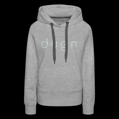 Dygn logo by Monsi Barrionuevo - Women's Premium Hoodie