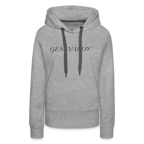 GenevaBoy - Sweat-shirt à capuche Premium pour femmes